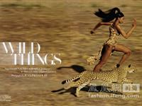 纳奥米-坎贝尔《Harper's Bazaar》美国版9月号时尚大片