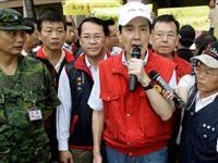 台湾半数民众不满马英九救灾表现[图集]