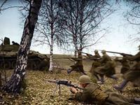 苏联卫国战争高清彩照