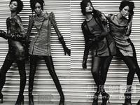 四大黑模来袭《i-D》杂志9月号时尚大片(组图)