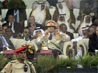 利比亚举行大阅兵庆祝卡扎菲执政40周年[图集]