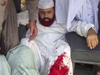 巴基斯坦宗教事务部长遭袭[图集]