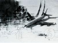 老照片揭秘:1978年苏军击落韩国客机现场