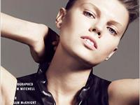 玛丽娜-琳查登上Vogue美容日本版最新封面大片