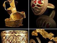 55岁男子发现全英最大黄金文物群 宝物惊艳奢华(组图)