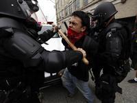 G20主办城市匹兹堡爆发千人游行示威[图集]