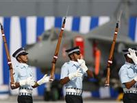 印度空军进行建军77周年庆典彩排(组图)