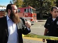 洛杉矶一犹太人聚会场所发生枪击事件[图集]