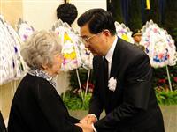 钱学森追悼会在北京八宝山举行[图集]