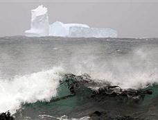 百余座冰山漂向新西兰[图集]