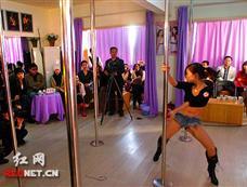 湖南举办首届钢管舞大赛[图集]
