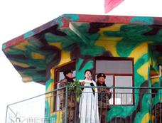 西藏军区文工团献艺 战士用萝卜代鲜花[图集]
