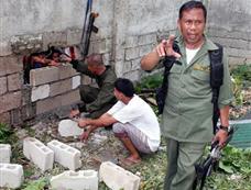 菲律宾南部发生大规模越狱事件[图集]