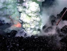 最深海底火山喷发奇景[图集]