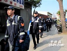台湾出动千名警力维安陈江会[图集]