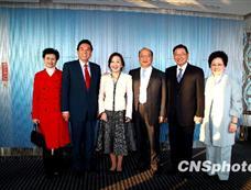 胡志强、江丙坤陪同陈云林参访台中市[图集]