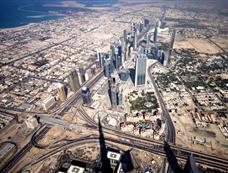 从迪拜塔俯瞰周边建筑照片曝光[图集]