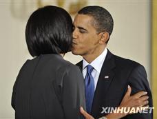 奥巴马夫妇举行国际妇女节招待会[图集]