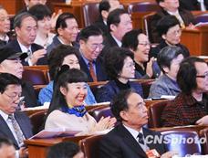 政协全体会议委员热烈鼓掌