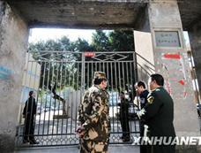 福州一小学黑板报墙体倒塌 五名学生死亡[图集]