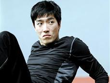 刘翔备战多哈世界室内田径锦标赛[图集]