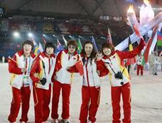 中国女子短道速滑队获影响世界华人大奖