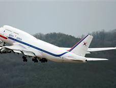 """韩国""""空军一号"""":波音B-747"""