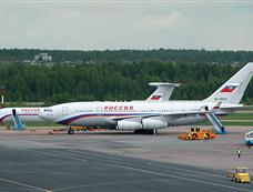 """俄罗斯""""空军一号"""":伊尔-96"""