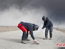 冰岛称火山烟尘在欧洲降落[图集]