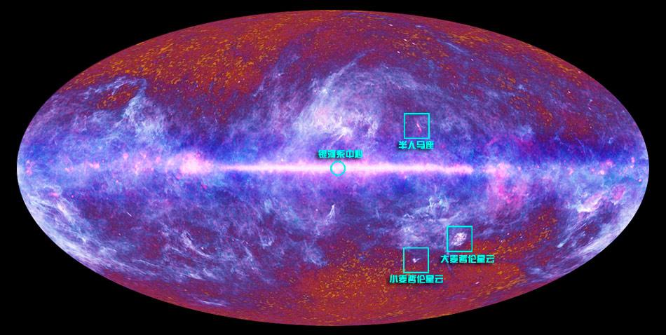 首张高清宇宙全景图曝光 - 天高云淡 - 天高云淡的博客