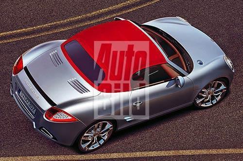 新动作 保时捷将于2012年推出新入门级车