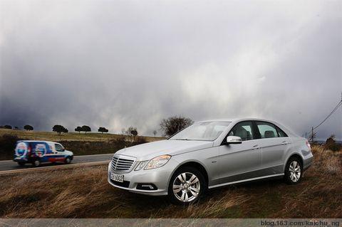 全球首试:全新一代奔驰E级车