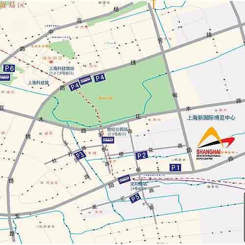 2009上海车展观展指南:周边停车指南