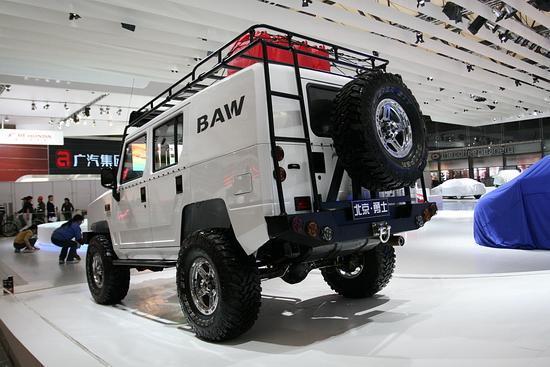 北汽自主家用SUV亮相车展 或将定价20万以内