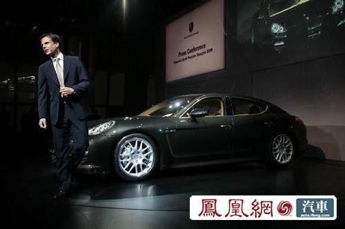 保时捷Panamera上海首发 售184.3-249万元