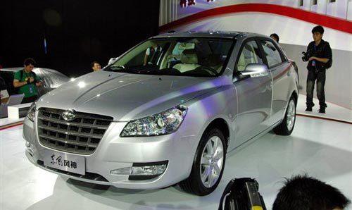 S30上海首发 东风携四款产品亮相车展