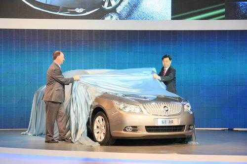 高级轿车王者新君越 上海车展首发亮相