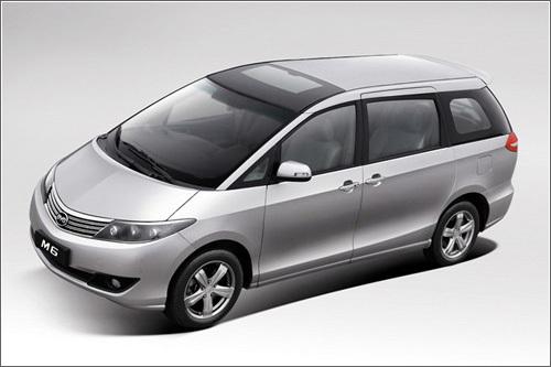 比亚迪M6上海车展全球首发 九月上市
