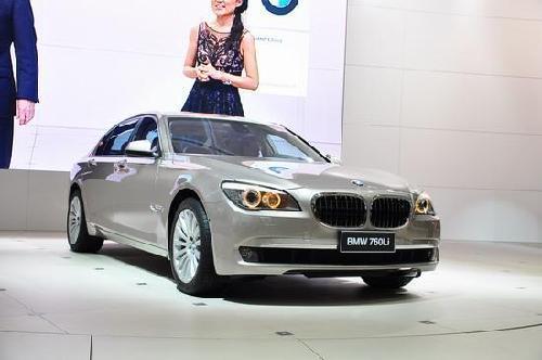 宝马多款亚洲首发车型亮相上海车展