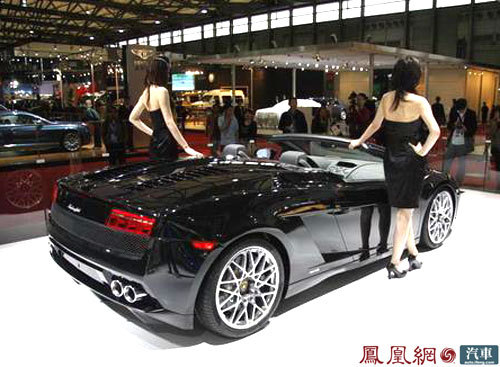 兰博基尼Gallardo LP 560-4上海车展亮相