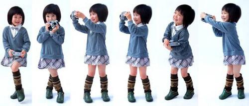 众泰展位惊现四岁中日混血车模 史上最小