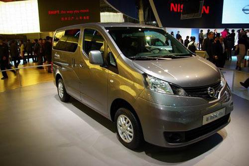 日产NV200亮相上海车展 可能投产郑州日产