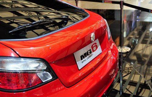 名爵MG6下半年投放市场 预计售11-15万元