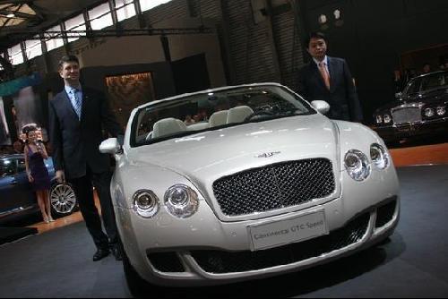 宾利雅致RL售价588万 欧陆Speed售价360万以上