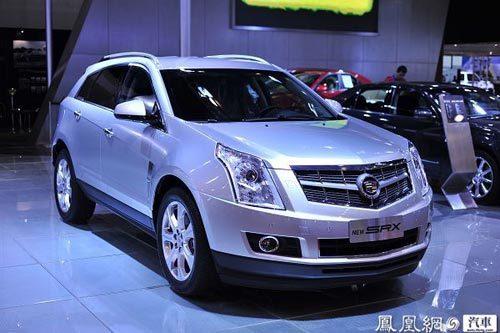 凯迪拉克豪华SUV全新SRX青岛车展首发