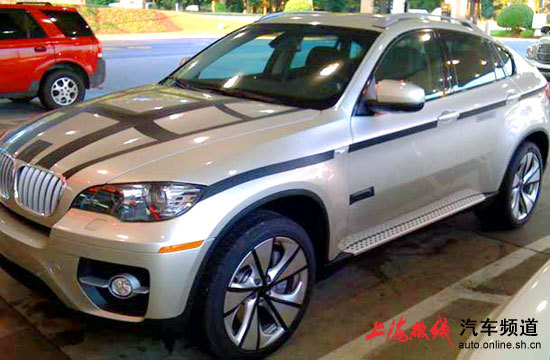 \[谍照\] BMWX6 Active Hybrid海外测试谍照曝光