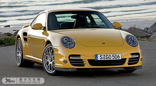 改款保时捷911 turbo亮相法兰克福车展