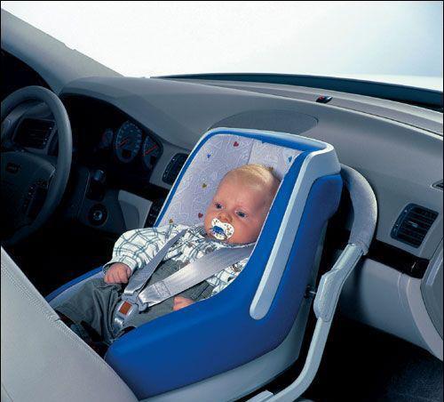 Baby乘车指南 婴儿面朝后最安全