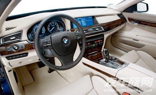驾驭世界的力量 试驾新宝马760Li【图】
