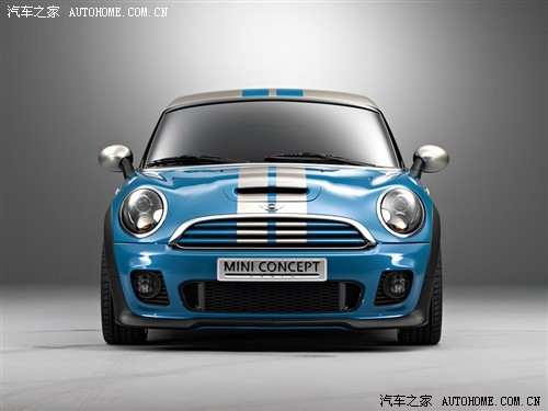神秘车车展亮相 MINI Coupe计划生产